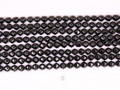 Black Spinel beads 10mm star faceted(1)