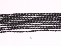 Black Spinel beads 4mm smooth(1)