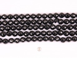 Black Spinel beads 8mm 128 faceted(1)