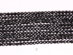 Black Spinel beads 8mm 64 faceted(1)