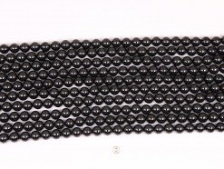 Black Spinel beads 8mm smooth(1)