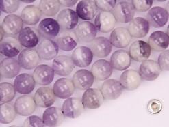 Dog Teeth Amethyst beads 8mm smooth(2)
