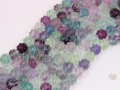 Flourite beads 10mm spiral(1)