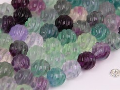 Fluorite beads 12mm spiral(2)