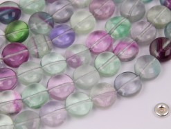 Fluorite coin 10mm smooth(2)