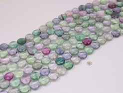 Fluorite coin 12mm smooth(1)