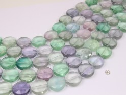 Fluorite coin 20mm smooth(1)