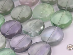 Fluorite coin 20mm smooth(2)