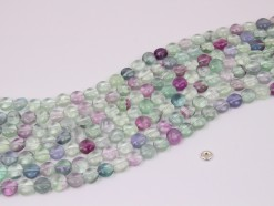 Fluorite coin 8mm smooth(1)