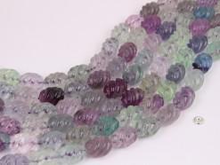Fluorite rice 12x16mm spiral(1)