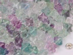 Fluorite star cube 6x6mm(2)