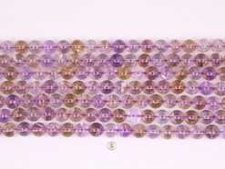 Ametrine beads 10mm smooth(1)