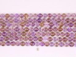 Ametrine beads 10mm smooth(1)