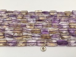 Ametrine rectangle 8x12mm faceted(1)