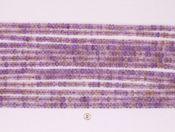 Ametrine rondelle 5x3mm faceted(1)