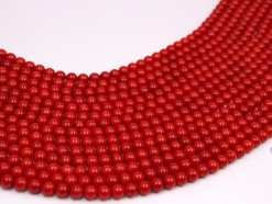Bamboo Coral (color treated) beads 6mm smooth(1)