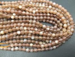 Coffee moonstone beads 6mm Fct_