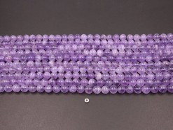 Lavender Amethyst beads 10mm smooth(1)
