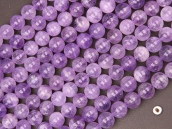 Lavender Amethyst beads 10mm smooth(2)