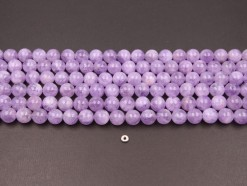 Lavender Amethyst beads 12mm smooth(1)