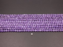 Lavender Amethyst beads 8mm smooth(1)