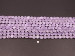 Lavender Amethyst coin 10mm smooth(1)