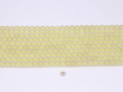 Lemon Quartz beads 6mm smooth(1)