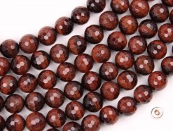 Red Tiger Eye AB beads 10mm 128faceted(2)