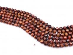 Red Tiger Eye AB beads 10mm smooth(1)