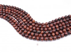 Red Tiger Eye AB beads 12mm smooth(1)