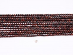 Red Tiger Eye AB beads 4mm smooth(1)