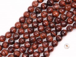 Red Tiger Eye AB beads 8mm 128faceted(2)
