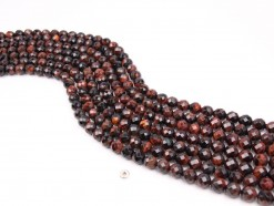 Red Tiger Eye AB beads 8mm faceted(1)