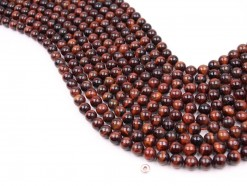 Red Tiger Eye AB beads 8mm smooth(1)