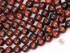 Red Tiger Eye AB beads 8mm smooth(2)