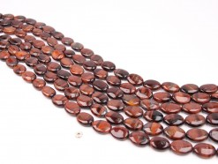 Red Tiger Eye AB oval 12x16mm smooth(1)