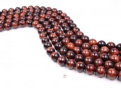 Red Tiger eye AB beads 14mm smooth(1)