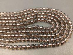 Smoky Quartz beads 6mm