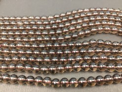 Smoky Quartz beads 6mm_1