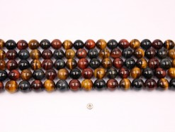 Three Color Tiger Eye AB beads 12mm smooth(1)