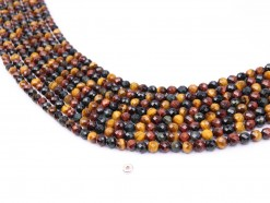Three Color Tiger Eye AB+ beads 6mm faceted(1)
