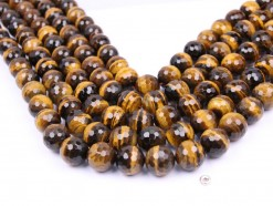 Yellow Tiger Eye AB+ beads 16mm 128 faceted(1)