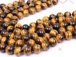 Yellow Tiger Eye AB beads 16mm smooth(1)
