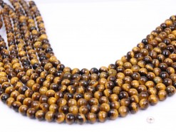 Yellow Tiger Eye AB+ beads 8mm 128 faceted(1)