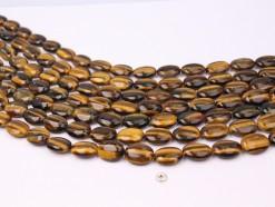 Yellow Tiger Eye AB+ oval 12x16mm smooth(1)