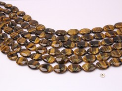 Yellow Tiger Eye AB oval 13x18mm smooth(1)