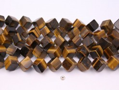 Yellow Tiger Eye AD cube 14x14mm smooth(1)