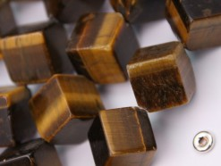 Yellow Tiger Eye AD cube 14x14mm smooth(2)